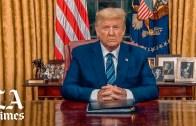 Trump suspends travel from Europe to battle coronavirus