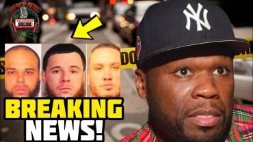 BREAKING: 3 Men Arrested For Beating 50 Cent Of 3 Million Dollars!