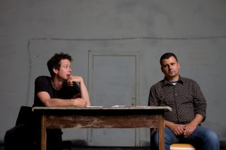 Marcus Youssef and James Long, photo by Simon Hayter