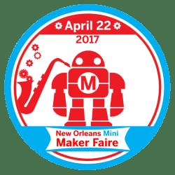 2017 New Orleans Mini Maker Faire Logo