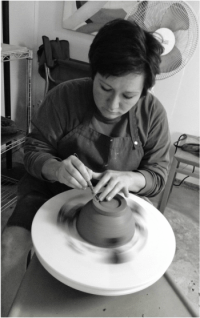 LCG Ceramics Artist Nealy Atkins