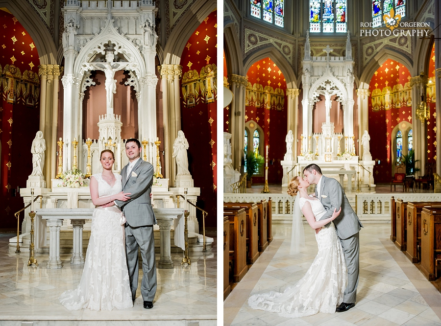 holy name of jesus new orleans wedding