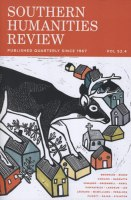 Southern Humanities Review - Winter 2019