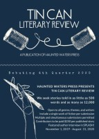 Tin Can Literary Review flier