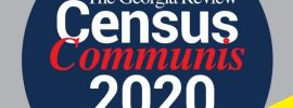 The Georgia Review Spring 2020 issue