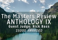 The Masters Review Anthology IX Contest flier