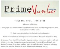 Prime Number Magazine - April 2020