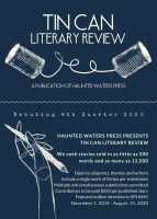 Haunted Waters Press 2020 submission opportunities flier