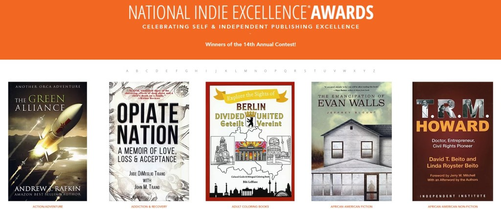 Screenshot of the 14th annual National Indie Excellence Awards