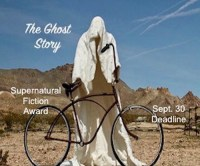 Ghost Riding a Bicycle