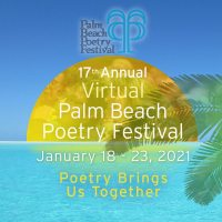 2021 Palm Beach Virtual Poetry Festival banner
