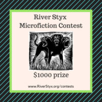 River Styx 2021 Microfiction Contest Banner