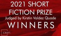 banner for CRAFT 2021 Short Fiction Prize winners