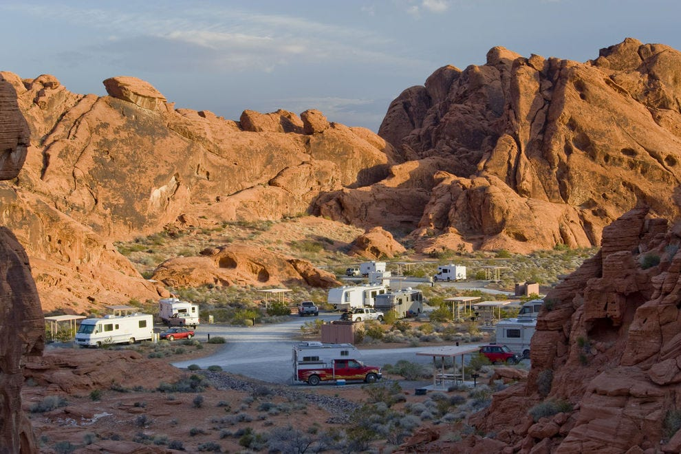 Which state park is best for RV campers?
