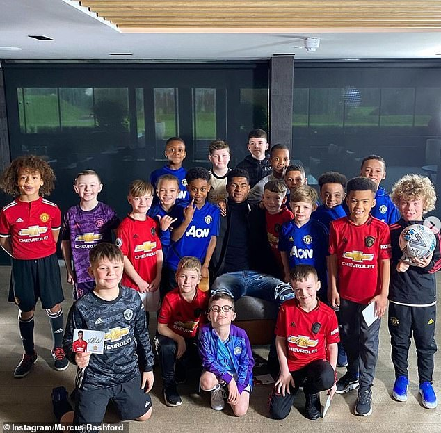 Rashford's school meals campaign saw him take on the Government and win earlier this year