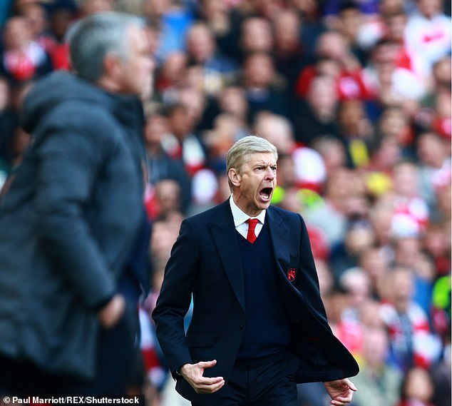 Wenger actually beat Mourinho twice in their rivalry - once at Chelsea at once at Man United