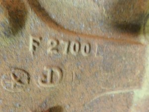 JD 720 GAS TRACTOR CYLINDER BLOCK 11291