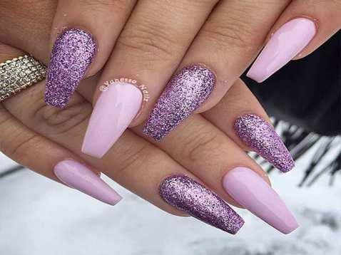 purple-pretty-summer-nail-colors