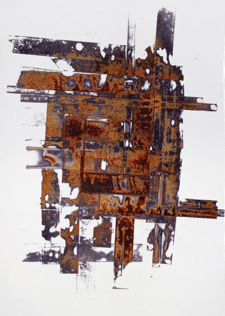 Ilan Wolff - Fire No. 26, 2001