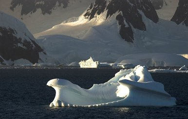 Majestic Morning Bergs, Lemaire Channel, Antarctic Archipelago