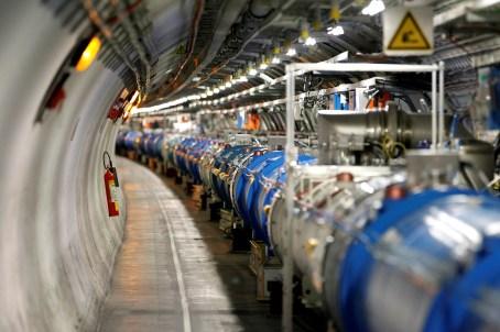 Gran Colisionador de Hadrones (LHC).