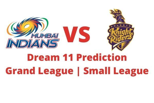 MI vs KKR dream 11 team prediction