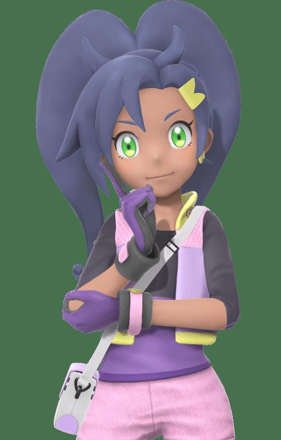 Rita posing with hand on elbow new Pokémon snap