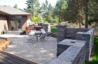 Awbrey Butte - Free Standing Wall and Patio Extension ...