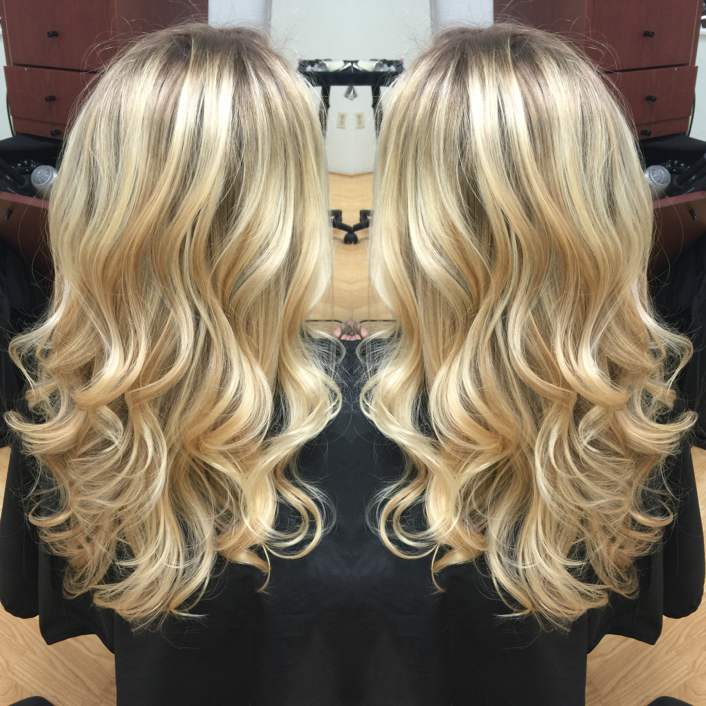 Newport Beach Hair Stylist Natural Light Ash Blonde Base With Foil