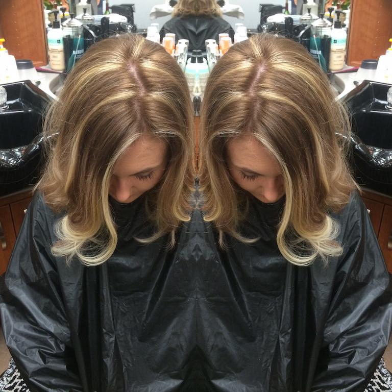 Newport Beach Hair Stylist Warm Dark Blonde Hair Color With Ash
