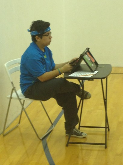 Cristine Newport Beach table tennis umpire