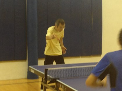 Tong Yu in Newport Beach Table Tennis Club