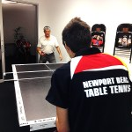 Newport Beach table tennis in San Clemente Party