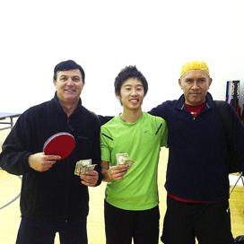 Newport Beach Table Tennis Champion