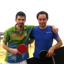 Ron Arellano and Mahdi Hajiaghayi after playing the Equal Challenge Tournament in Newport Beach, CA