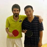 Ron Arellano and Xuan Liu