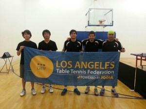 Newport Beach Table Tennis Club versus GLTTC