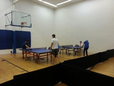 weekly table tennis tournament in newport beach