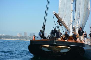Stern off Newport