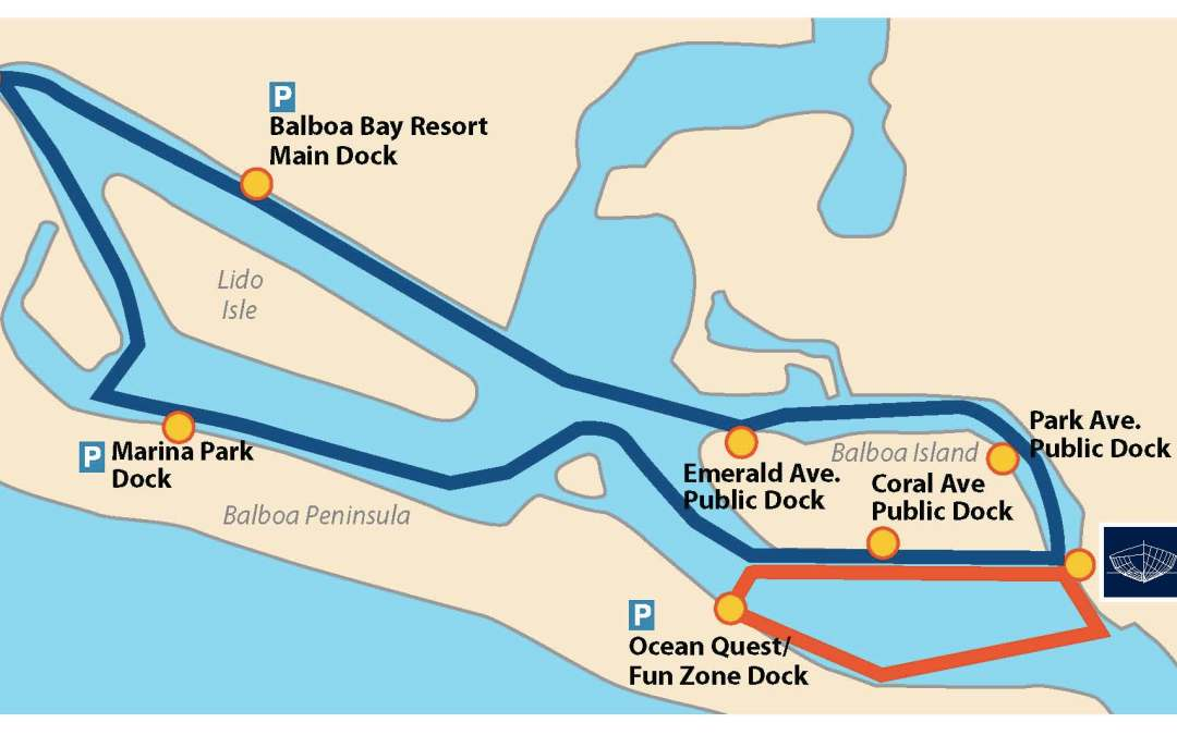 2018 Water Taxi Routes Added