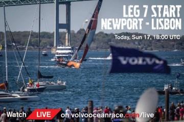 Leg 7 start Newport to Lisbon
