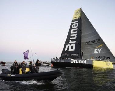 Team Brunel leg 7 Volvo Ocean Race Win