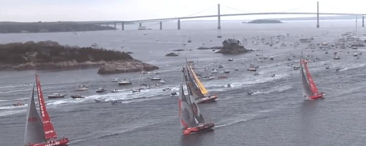 Volvo Ocean Race Newport RI Newport Bridge