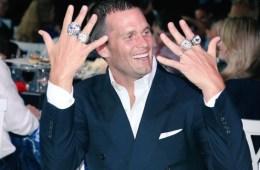 Tom Brady 4 rings