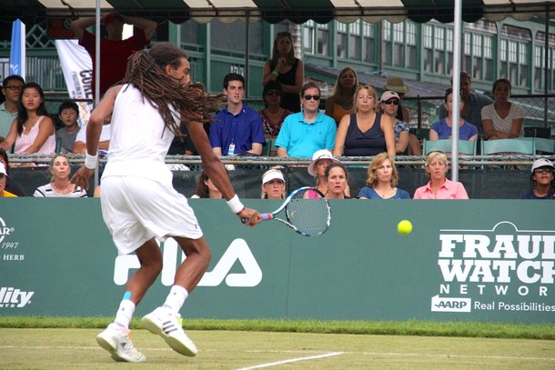 Dustin Brown Newport Tennis Hall of Fame