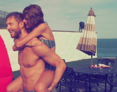 Taylor Swift Calvin Harris 4th of July