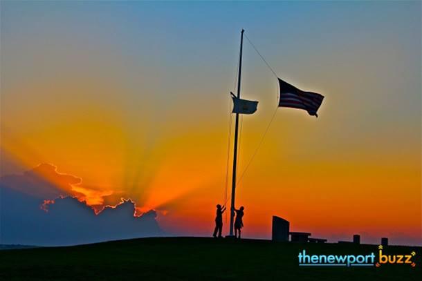 Brenton Point Newport RI Sunset