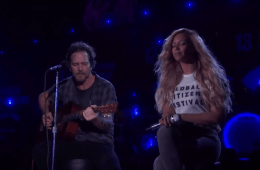 Eddie Vedder Beyonce Redemption Song Global Citizen Festival