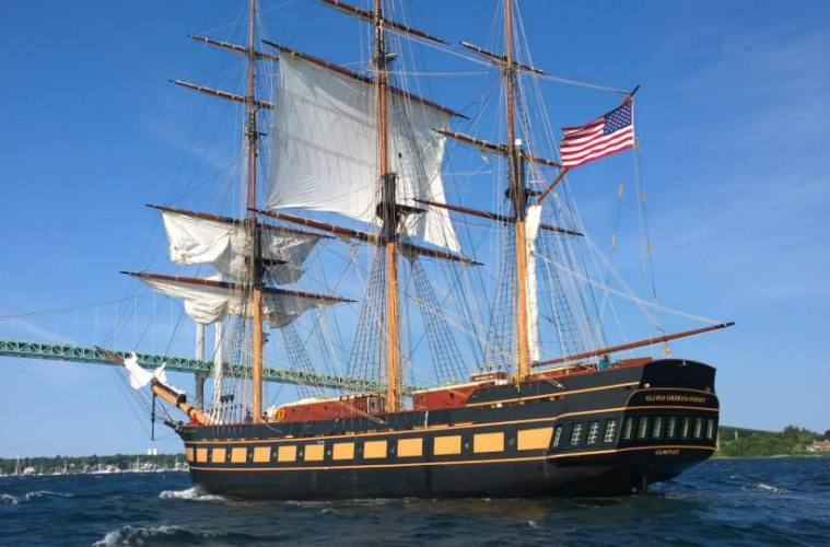 tall ship oliver hazard perry