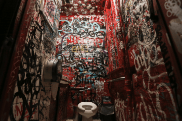 NYC dive bar bathroom craigslist